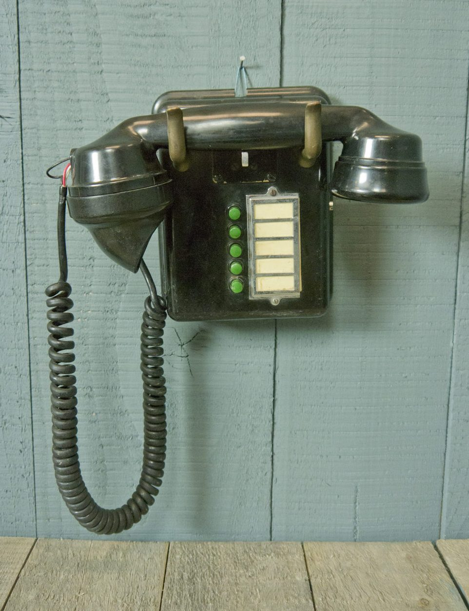 Internal Wall Telephone – 5 Green Buttons