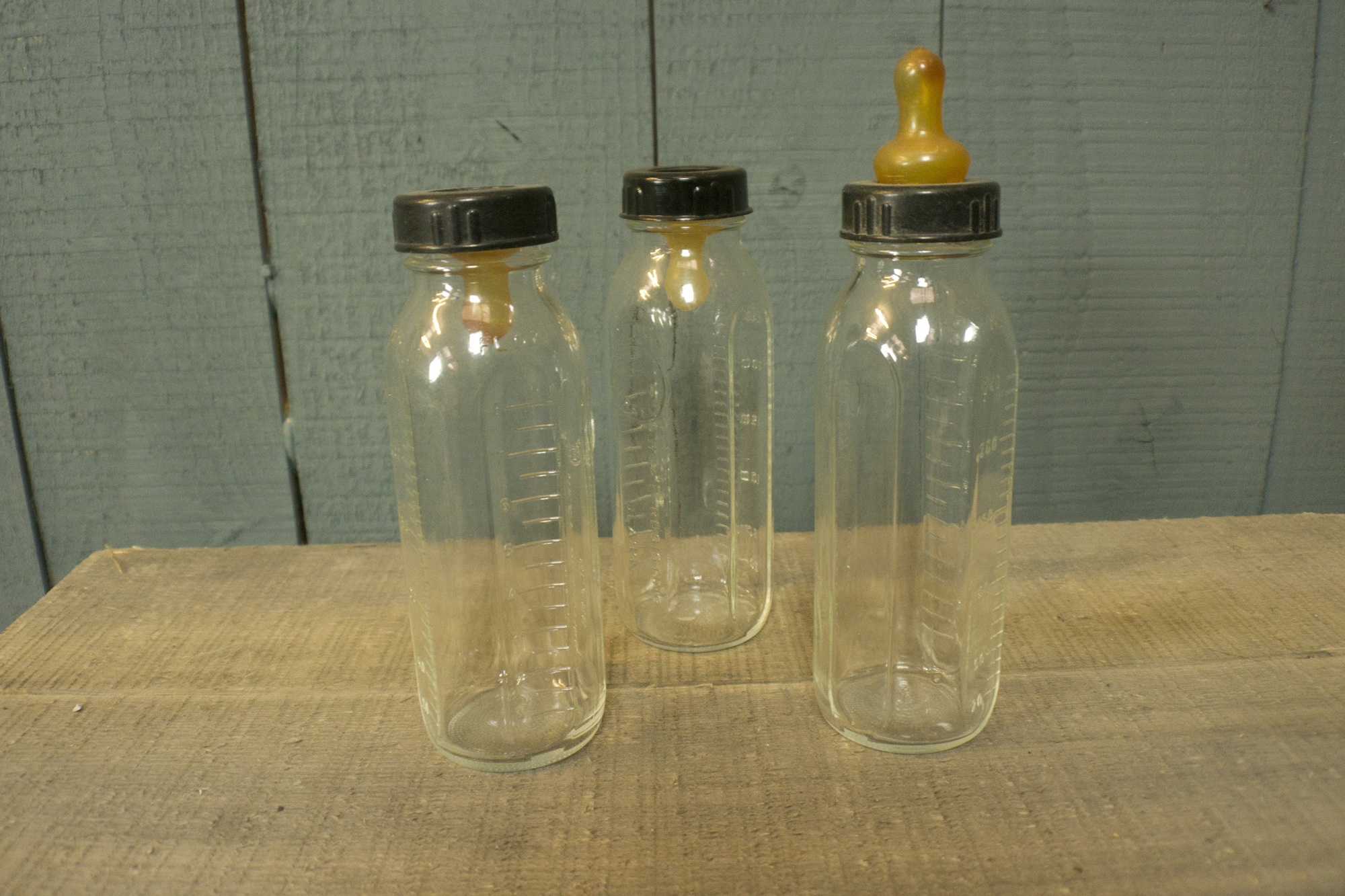 Glass Baby Bottles