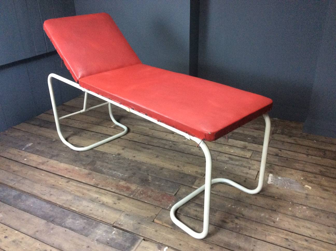 Doctors Examination Couch-Red