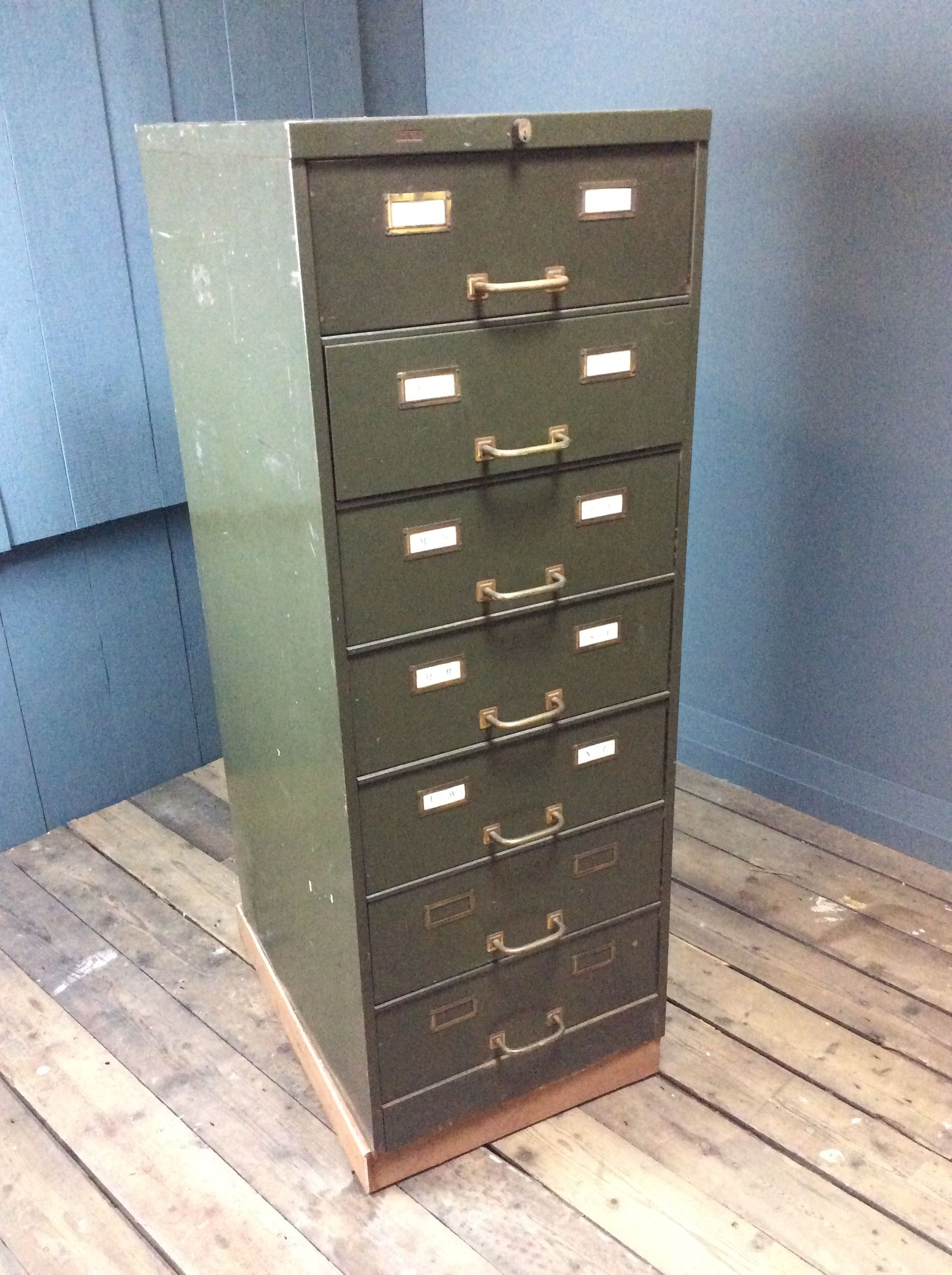 Metal Filing Cabinet-7 Drawers