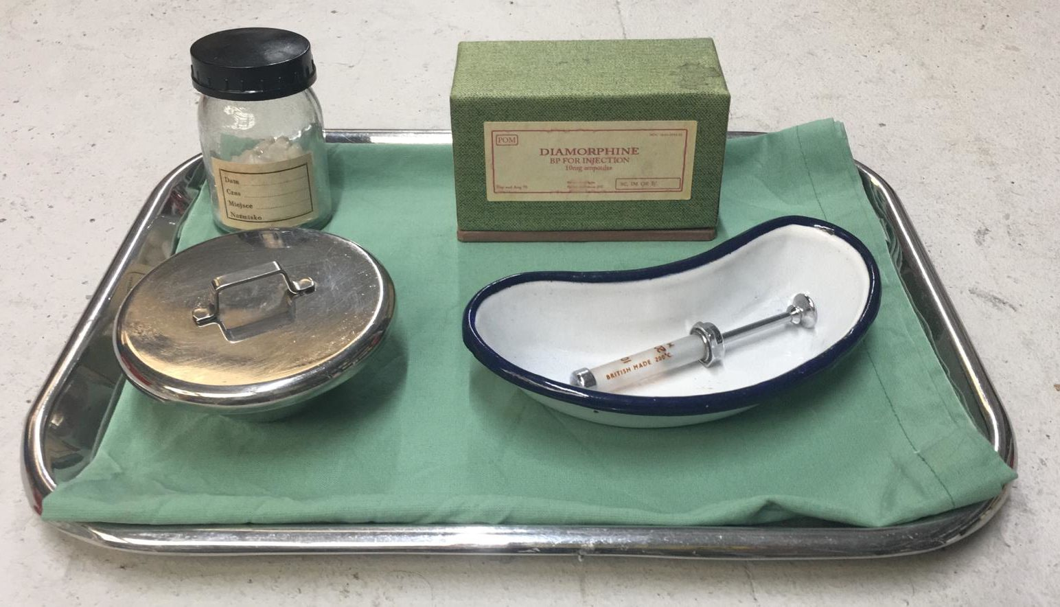 Dressed Medical Tray 1
